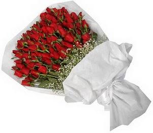 hediye çiçek yolla  51 adet kırmızı gül buket çiçeği