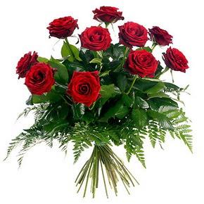 Kocaeli internetten çiçek satışı  10 adet kırmızı gülden buket