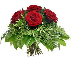 çiçek yolla  5 adet kırmızı gülden buket