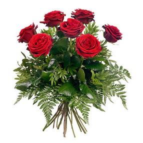 Kocaeli çiçek servisi , çiçekçi adresleri  7 adet kırmızı gülden buket