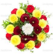 Kocaeli cicekciler , cicek siparisi  13 adet mevsim çiçeğinden görsel buket