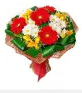 1 demet karışık buket  Kocaeli çiçek yolla , çiçek gönder , çiçekçi