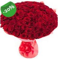 Özel mi Özel buket 101 adet kırmızı gül  Kocaeli online çiçekçi , çiçek siparişi