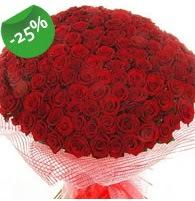 151 adet sevdiğime özel kırmızı gül buketi  Kocaeli uluslararası çiçek gönderme