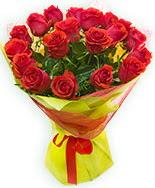 19 Adet kırmızı gül buketi  çiçek online çiçek siparişi