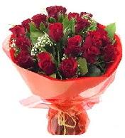 12 adet görsel bir buket tanzimi  çiçek online çiçek siparişi