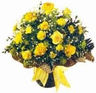 Kocaeli çiçek siparişi vermek  Sari gül karanfil ve kir çiçekleri