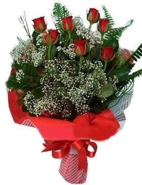 7 kırmızı gül buketi  Kocaeli çiçek gönderme sitemiz güvenlidir