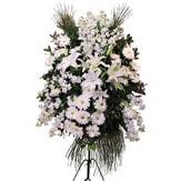 Kocaeli çiçek mağazası , çiçekçi adresleri  Ferforje beyaz renkli kazablanka