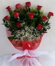 11 adet kırmızı gülden görsel çiçek  Kocaeli internetten çiçek siparişi