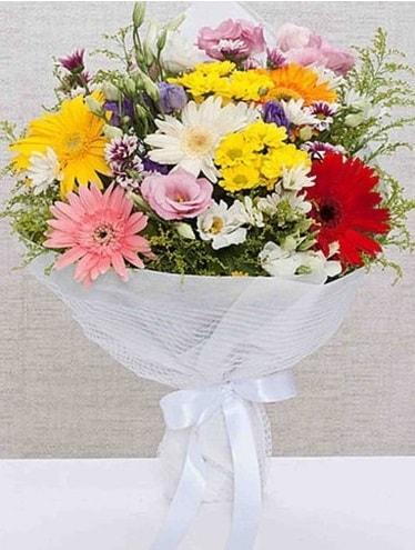 Karışık Mevsim Buketleri  Kocaeli online çiçek gönderme sipariş