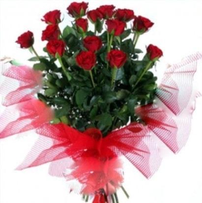 15 adet kırmızı gül buketi  Kocaeli çiçek mağazası , çiçekçi adresleri