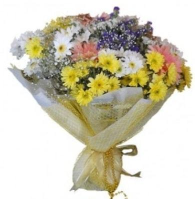 Karışık mevsim çiçeği  Kocaeli internetten çiçek siparişi