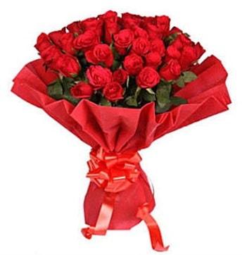 41 adet gülden görsel buket  Kocaeli internetten çiçek siparişi