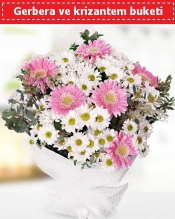 Papatya ve Gerbera Buketi  Kocaeli çiçek siparişi vermek